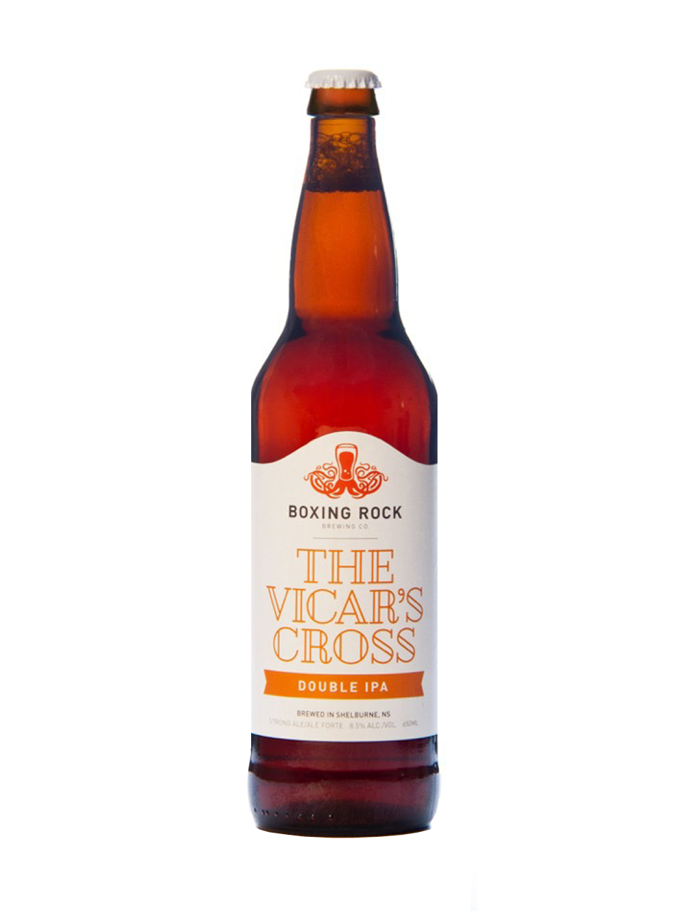 Boxing Rock Vicar's Cross Double IPA